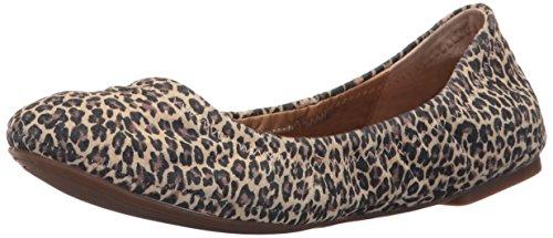 Lucky Brand Damen Lucky Emmie Ballet Flat Sesam Leopard