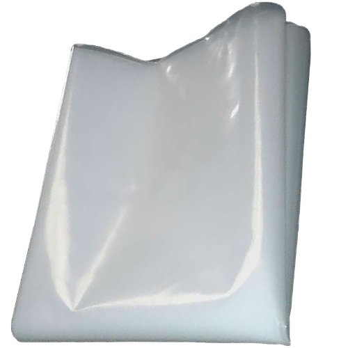 QVS Shop 4M X 8M Clear Polythene Sheeting 250Mu / 1000G Plastic Window Protection Gardener' s Dream