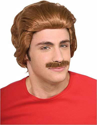 Nacho Libre Wig & Moustache ()
