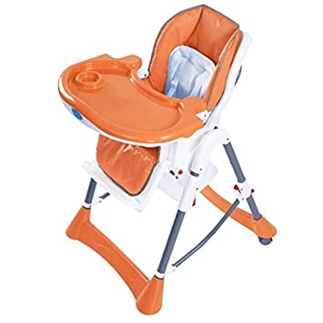 Amazing Giantex Portable Baby High Chair Infant Toddler Feeding Booster Folding Highchair Orange Spiritservingveterans Wood Chair Design Ideas Spiritservingveteransorg
