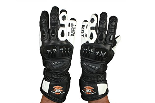 21e4e1728c3e4 Motorcycle REAL LEATHER Racing Sport Gloves, Vented with Knuckle  Protection, Small - XXL, Various Colours