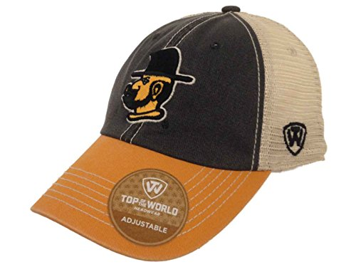 Appalachian State Mountaineers TOW Black Yellow Offroad Mesh Adjustable Hat Cap