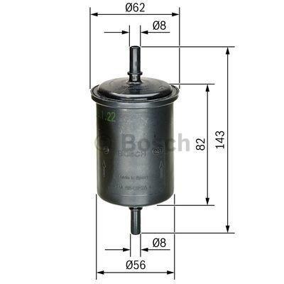 Bosch 0 450 902 161 Kraftstofffilter