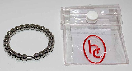 Hell 6 's Couture, SURGICAL Steel 6 Hell mm Cuentas Cock Ring, Rolling Beads for Enhanced Comfort fb80e2