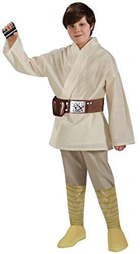 Luke Skywalker Jedi Costume (Star Wars Child's Deluxe Luke Skywalker Costume,)