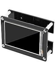 Lazmin Touchscreen da 3,5 Pollici per Raspberry Pi, Display LCD 1080P Touch Screen Monitor HDMI + Custodia in Acrilico Nero per Raspberry Pi