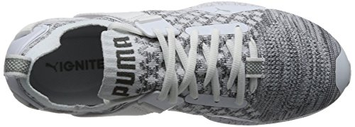 Puma Ignite Evoknit Lo Hypernature, Scarpe Sportive Outdoor Uomo Bianco (White-quarry-quiet Shade)