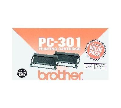 Brother Model PC-301 Cartridges, Pack Of 2
