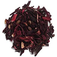 Frontier Co-op Hibiscus Flowers, Cut & Sifted, Certified Organic, Kosher, Non-irradiated | 1 lb. Bulk Bag | Hibiscus sabdariffa L.