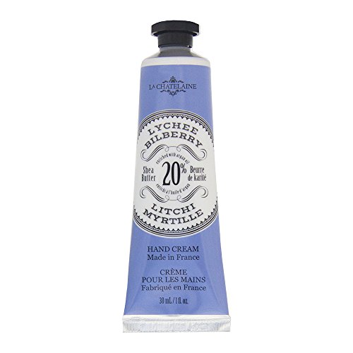 La Chatelaine 20 % Shea Butter Hand Cream, Travel Size 1 oz