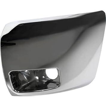 Front Bumper End//Cap Chrome Lh W//O Fog Hole For 2007-2013 Silverado 1500