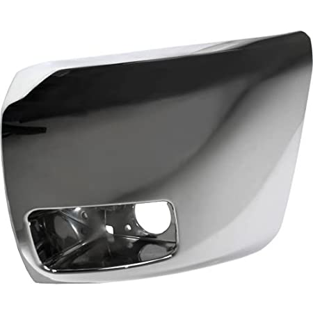 Make Auto Parts Manufacturing Driver Side Front Bumper End Cap With Fog Lamps Hole For Silverado 1500 2007 2008 2009 2010 2011 2012 2013 GM1004156