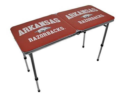 NCAA Arkansas Razorbacks Tailgate Table, 22-Pound by Marketing Results, Ltd.