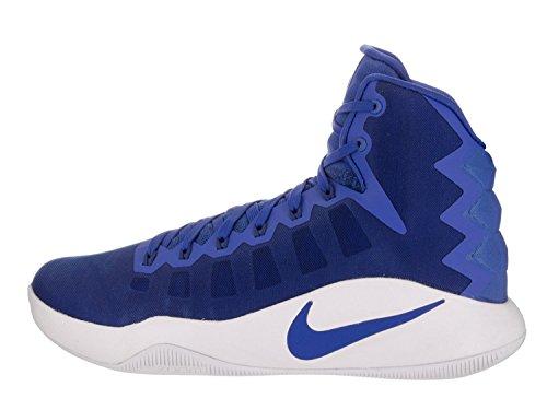 Nike Herren Hyperdunk 2016 Basketballschuhe Blau Weiss