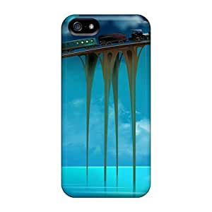 New WraGIKV5591CLWcb Amazing Journey Skin Case Cover Shatterproof Case For Iphone 5/5s