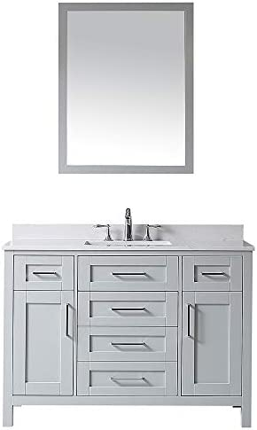 Ove Decors Maya 48 Dove Grey Single Sink Vanity