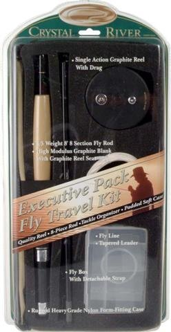 Crystal River Executive Pack 8' Fly Rod with Reel and Accessories