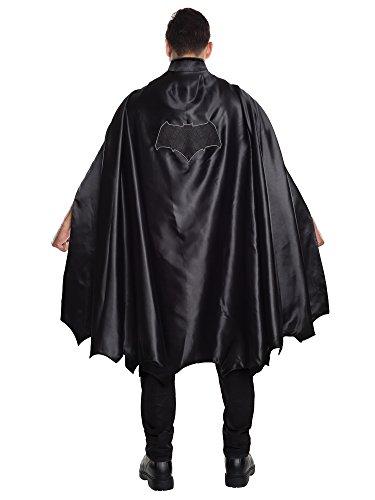 Rubie's Men's Batman V Superman: Dawn of Justice Deluxe Adult Batman Cape, Black, One Size
