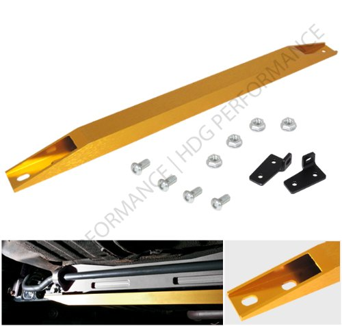 Honda Civic Lx Dx Ex Ek Jdm Gold Rear Lower Sub Frame Tie Bar Brace ()