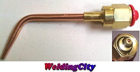 WeldingCity Acetylene Welding Tip 2-W #2 Size 2 for Victor Oxyfuel 300 Series Torch