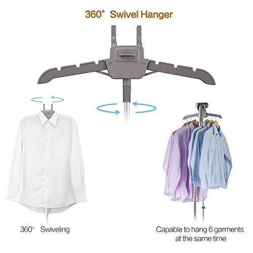 SALAV Clothes 360 Degree High Efficiency Panel, 4 Steam Settings, Free Limescale Removers, Big GS24-BJ Upgraded