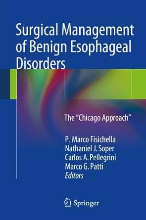 Amazon.com: Surgical Management of Benign Esophageal