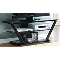 Coaster Home Furnishings 701370 Contemporary TV Console, Black