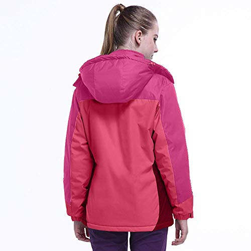 Cálido Aire Cremallera Gruesa Qiusa Para Tamaño Sudadera Con Chaqueta Hot Cachemira Libre Cazadora Al Mujer Azul L color Deportiva Invierno Pink De xAAqt4wX