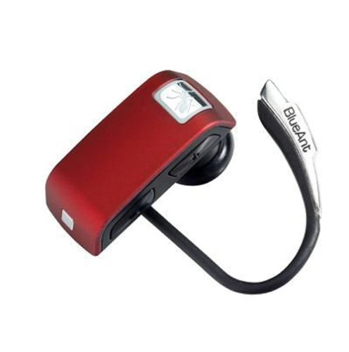 (BlueAnt Z9i Bluetooth Headset (Red) [Retail Packaging])