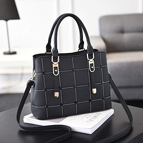 hombro bolsa Outdoor Black Ocio minimalista de XULULU Single Shoulder satchel bag Bag Deportes wASFUqf