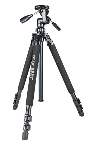 SLIK Pro 700DXQ AMT Tripod With 3-Way Pan & Tilt Head , Black (615-316) by Slik