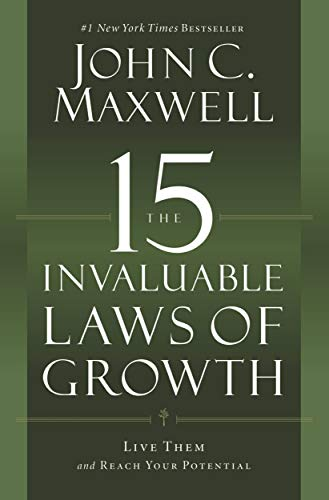 Online Lesson Plan Book - The 15 Invaluable Laws of Growth: Live Them and Reach Your Potential