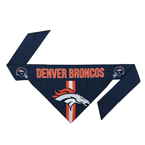 NFL Denver Broncos Pet Bandanna, (Denver Broncos Gear)