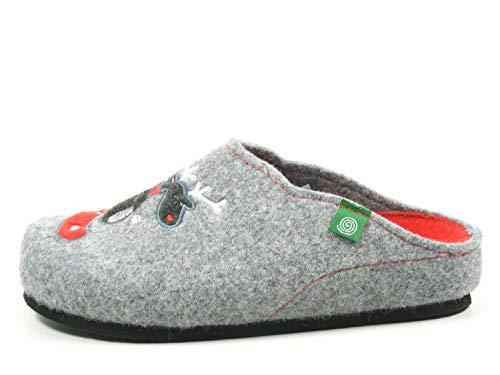 Grau Pantofole Dr Donna 320484 Brinkmann w0qXz