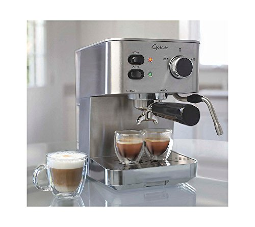 A Review Of The Capresso 118.05 EC PRO Espresso and Cappuccino Machine