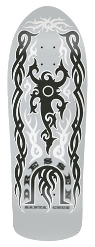 Santa Cruz Limited Edition Skateboard Deck Dust To Dust Dressen Tribal Powerply 10 X 31.4