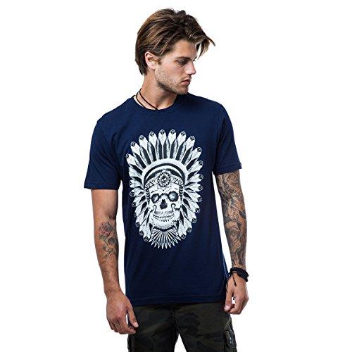 Camiseta Zero Apache - Azul Marinho - M