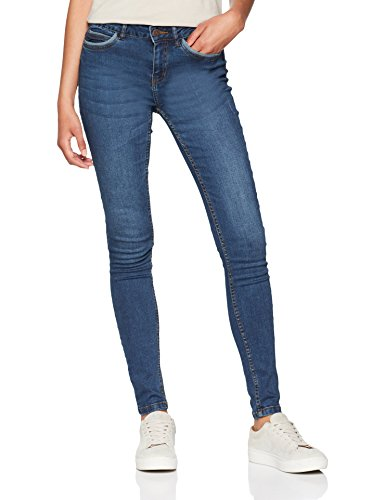 Noisy May, Jean Slim Femme Bleu (Dark Blue Denim Dark Blue Denim)