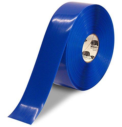 Heavy Duty Floor Tape 3 inch Blue 100' Roll