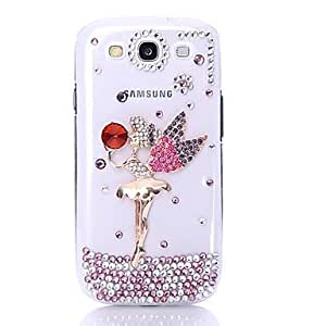 Zircon Girl Pattern Case for Samsung Galaxy S3 I9300