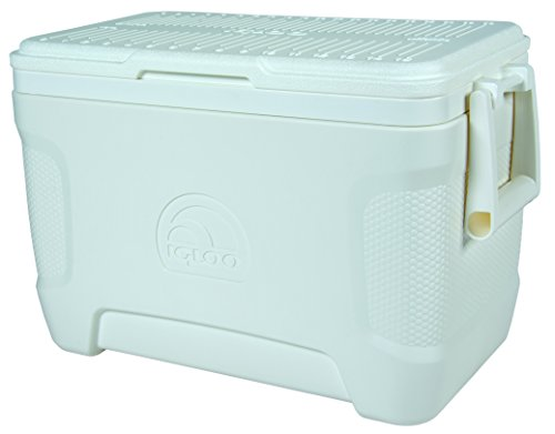 Igloo Marine Contour Cooler, 25 Quart 23 L, White