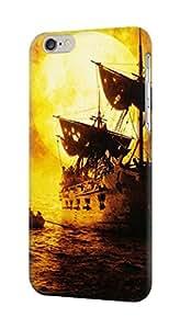 "E0841 Pirates Black Pearl Funda Carcasa Case para IPHONE 6 PLUS (5.5"")"