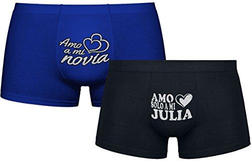 Regalos Divertidos para Hombre | Amo Solo a mi Julia | Los Regalos de Aniversario Más Originales |: Amazon.es: Ropa y accesorios