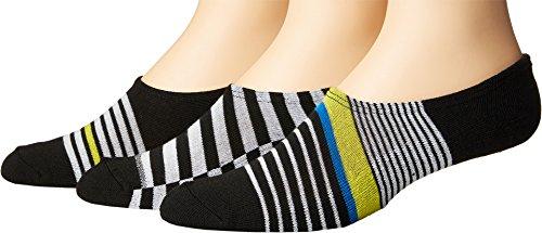 Converse Chucks Stripes Mix 3-Pair Pack, Black, 10-13 US Men's