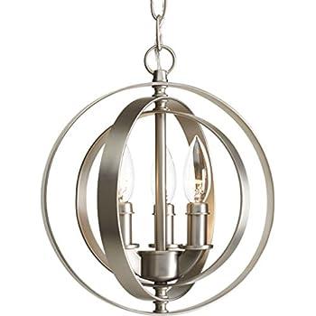 progress lighting p5142 126 three light sphere. Black Bedroom Furniture Sets. Home Design Ideas