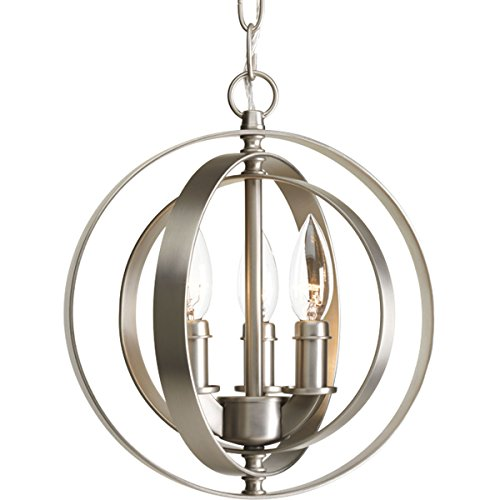 Progress Lighting P5142-126 Three-Light Sphere Pendant