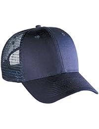 OTTO Cotton Blend Twill 6 Panel Low Profile Mesh Back Trucker Hat 6da883ebebf9