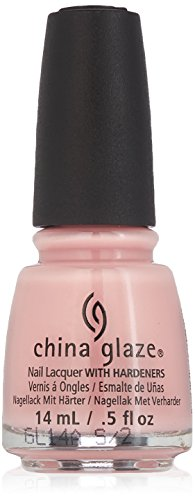 China Glaze Nail Polish, Diva Bride, 0.5 Fluid Ounce