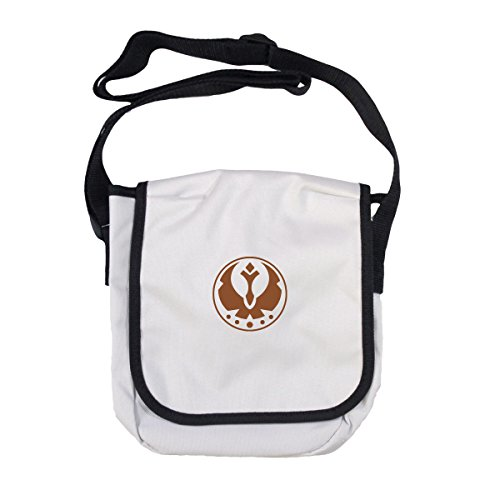 Store with Arcane Cotton Mens Black Shoulder Bag Edging White ZqAqadg6