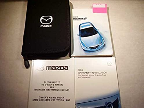 2004 mazda 6 owners manual mazda amazon com books rh amazon com 2004 mazda 6 user manual owner's manual mazda 6 2004